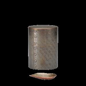 茶筒 いぶし銀(100g)