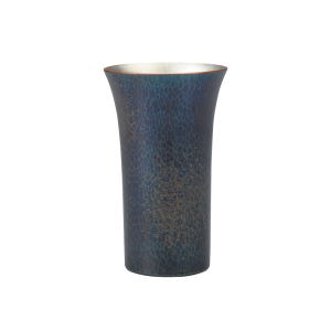 Beer cup<br>Deep-blue with scattered gold color<br>(250ml)