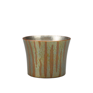 Sake cup<br>Colored streamline finish<br>(60ml)