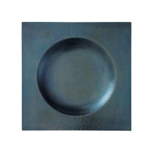 Serving plate<br>Deep -blue