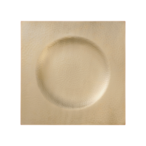 Serving plate<br>Light gold